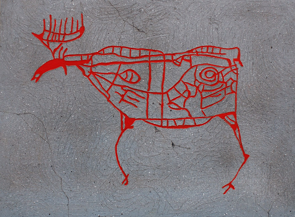 Elg i Drammen